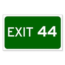 EXIT 44 Decal