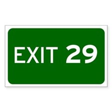 EXIT 29 Decal