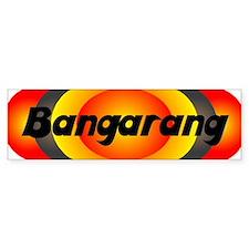 Bangarang Orange Bumper Sticker