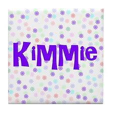 Kimmie Flower Power Tile Coaster