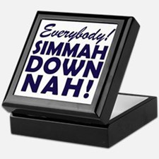 Funny SNL Simmah Down Nah Keepsake Box