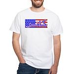 Infidel American Patriotic White T-Shirt