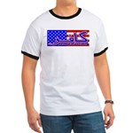 Infidel American Patriotic Ringer T
