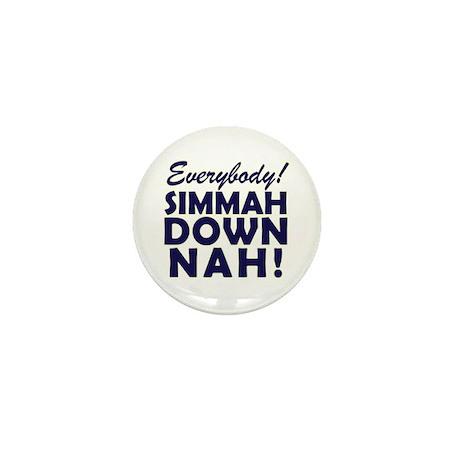 Funny SNL Simmah Down Nah Mini Button