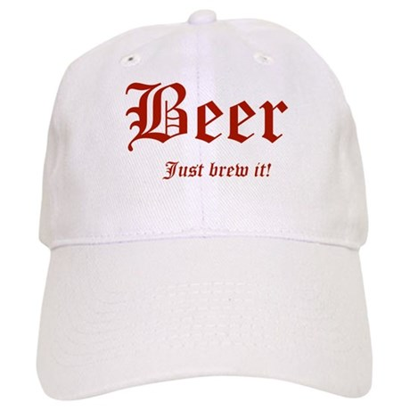 BEER Just Brew It! Beer Lover Cap