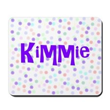 Kimmie Flower Power Mousepad