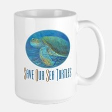 Save Our Sea Turtles Mug