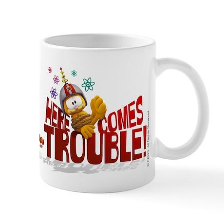 "Garfield ""Here Comes Trouble"" Mug"