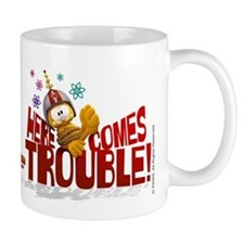 "Garfield ""Here Comes Trouble"" Mug"