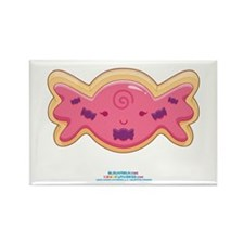 Kawaii Candy Sugar Cookie Rectangle Magnet