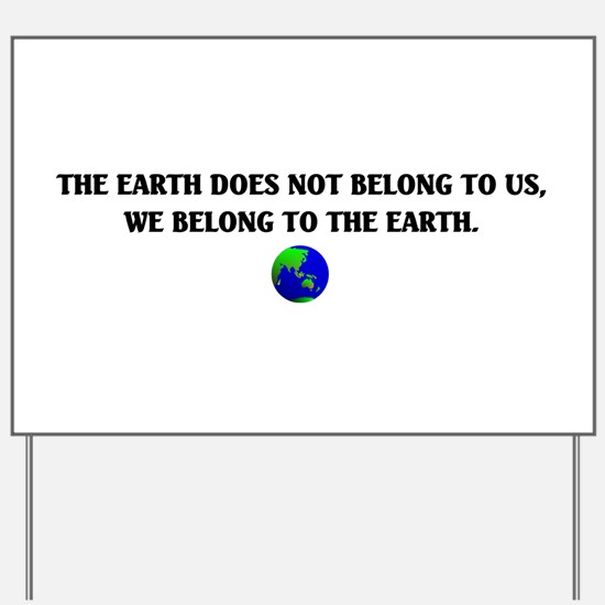 Mother Earth Yard Sign