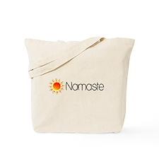 Namaste Sun 2 Tote Bag