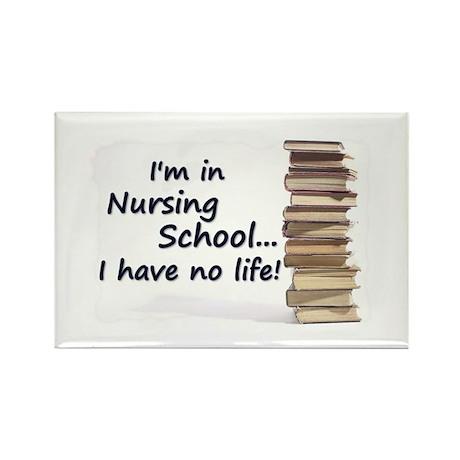 Nursing School Rectangle Magnet
