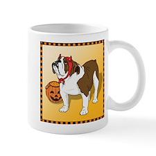 Halloween Bulldog Mug