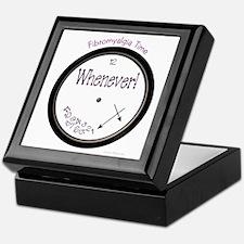 Fibromyalgia Time Keepsake Box