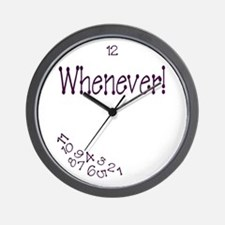 Fibromyalgia Time Wall Clock