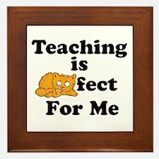 Unique Teachers appreciation Framed Tile