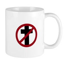 Anti-Christianity Mug