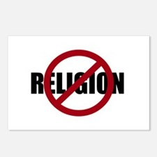 Anti-religion Postcards (Package of 8)