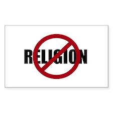 Anti-religion Bumper Stickers