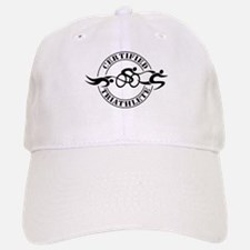 Certified Triathlete Logo Baseball Baseball Cap