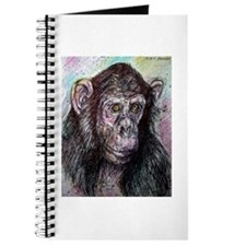 Chimp, striking, adorable, Journal