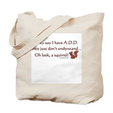 ADD Squirrel Tote Bag