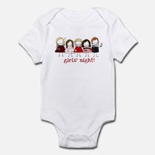 Girls' Night Infant Bodysuit