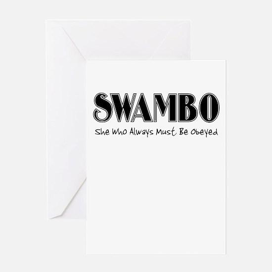 SWAMBO Greeting Card