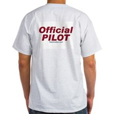 Nate Ash Grey T-Shirt