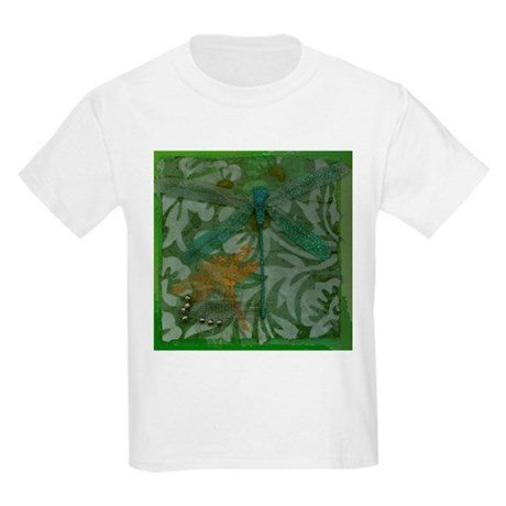 Dragonfly Blue Kids T-Shirt