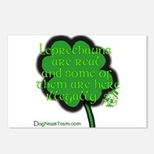 Illegal Leprechauns Postcards (Package of 8)