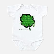 Illegal Leprechauns Infant Bodysuit