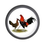 Old English BB Reds Wall Clock