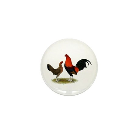 Old English BB Reds Mini Button (100 pack)