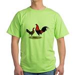 Old English BB Reds Green T-Shirt