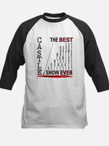 Castle: Best Show Ever Kids Baseball Jersey