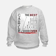 Castle: Best Show Ever Sweatshirt