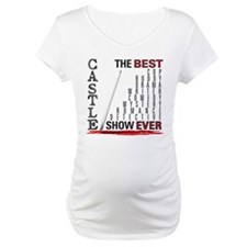 Castle: Best Show Ever Maternity T-Shirt