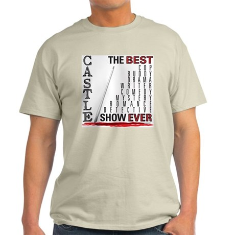 Castle: Best Show Ever Light T-Shirt