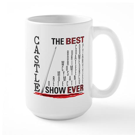 Castle: Best Show Ever Large Mug