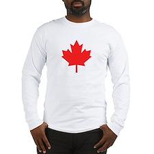 Big A** Maple Leaf Long Sleeve T-Shirt