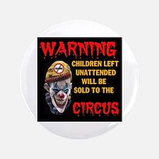 "OBAMA CIRCUS CLOWN 3.5"" Button"
