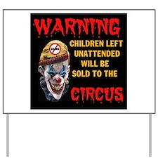 OBAMA CIRCUS CLOWN Yard Sign