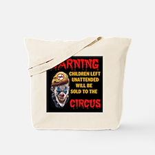 OBAMA CIRCUS CLOWN Tote Bag