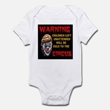 OBAMA CIRCUS CLOWN Infant Bodysuit