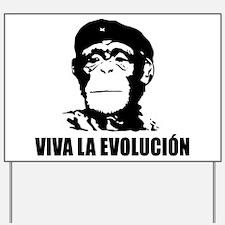 Atheism Evolution Yard Sign