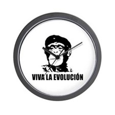 Atheism Evolution Wall Clock