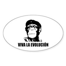 Atheism Evolution Decal