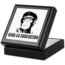 Atheism Evolution Keepsake Box